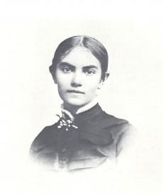 Karin som ung