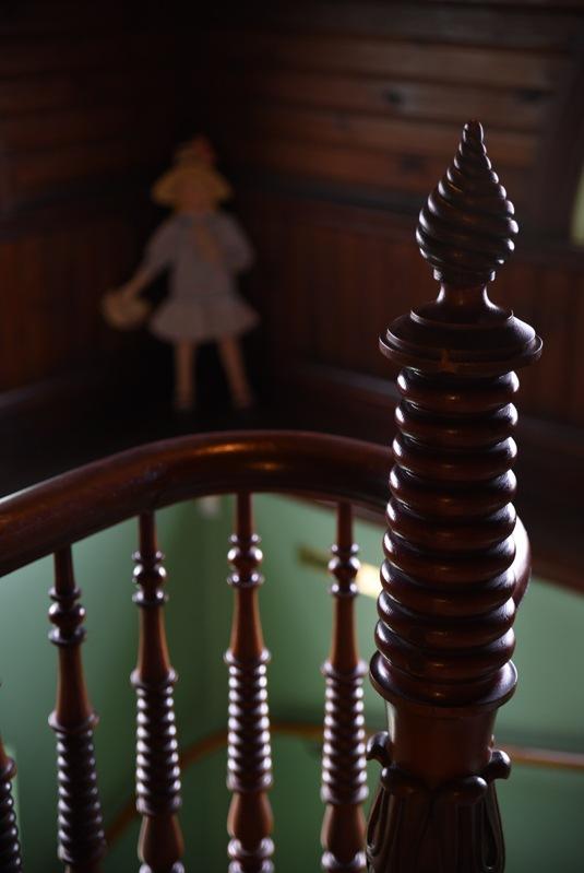 Bergööska huset, trappuppgang