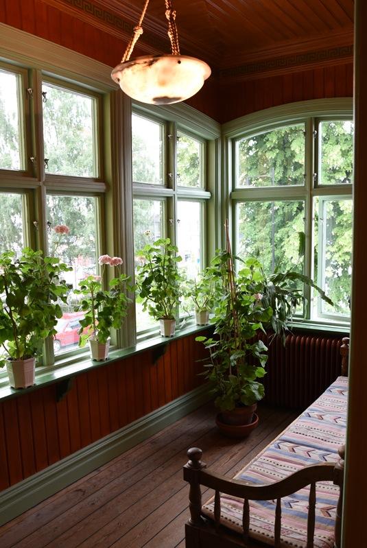 Bergööska huset veranda